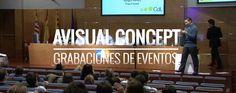 Equipos de grabación HD y operadores de cámara para ferias, conferencias, congresos y cualquier tipo de eventos