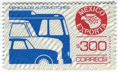 México Exportaba, los timbres postales de Rafael Davidson | coolhuntermx