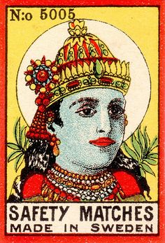 fab collection of Indian matchbox designs