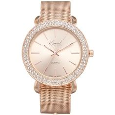 Kim Rogers Rose Gold Womens Rose Gold-Tone Watch Boxed Set For Mothers... ($24) ❤ liked on Polyvore featuring jewelry, watches, rose gold, rose gold wrist watch, rose gold jewelry, bezel watches, pink gold watches and red gold jewelry