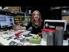 Learn about all the different types of conductive textiles available at Adafruit! Becky Stern provides a guided tour. Conductive thread in 3 ply, 2 ply, and ...