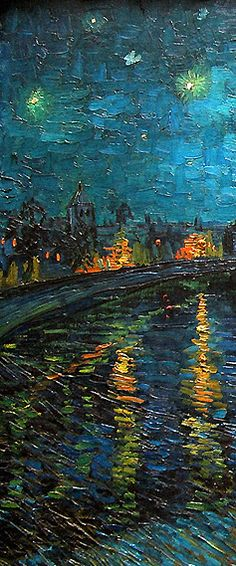 varuud: Starry Night Over the Rhone, Vincent van Gogh. Van Gogh Pinturas, Vincent Van Gogh, Arte Van Gogh, Van Gogh Art, Art Van, Van Gogh Paintings, Van Gogh Drawings, Contemporary Abstract Art, Fine Art