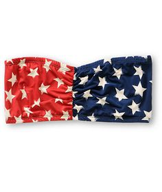 See You Monday Americana Stars & Stripes Bandeau Top from Zumiez. Saved to Summer Daze. America Pride, Cute Bras, Bandeau Top, Summer Essentials, Layered Look, Fashion Killa, Star Print, Preppy, Red And Blue