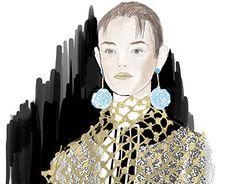 "Check out new work on my @Behance portfolio: ""Prada ss16 illustration"" http://on.be.net/1MtDGGC"