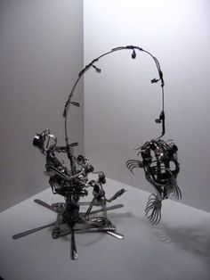 Art With Fork Spoon