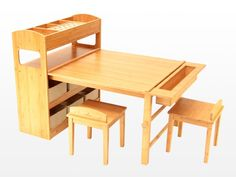 Childrens Arts and Crafts Table and Chairs
