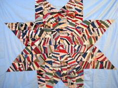 Vintage Late 1800's Early 1900's Lone Star Quilt Top Calico Fabric | eBay