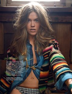 hilary walsh elle france8 Victoria Lee is A Natural Beauty for Elle France May 2013 by Hilary Walsh