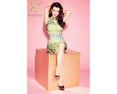 Kardashian Kollection Kaleidoscope Dress