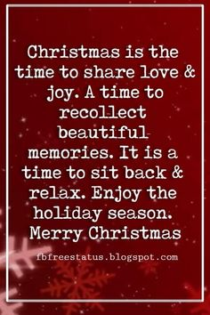 Christmas Quotes and Sayings Merry Christmas Love Quotes & Messages with Images