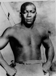 """John Arthur """"Jack"""" Johnson (March 1878 – June nicknamed the Galveston Giant was an American boxer, who—at the height of the Jim Crow era—became the first African American world heavyweight boxing champion African American Inventors, African American History, Native American, Jack Johnson Boxer, Who Is Jack, American Boxer, American Sports, Heavyweight Boxing, Champions Of The World"""