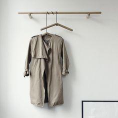Georg Wardrobe Rack Designer: Christina L. Halstrom Manufactured by: Skagerak Denmark