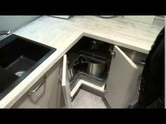 Kuchyně Easy - řešení rohů Angles, Oven, Kitchen Appliances, Youtube, Home Decor, Houses, Corner Vanity Unit, Do It Yourself Crafts, Butler Pantry