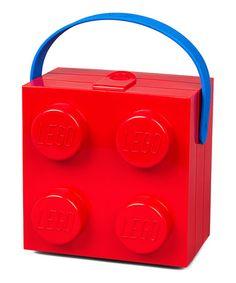 Look at this #zulilyfind! LEGO Red Lunch Box #zulilyfinds