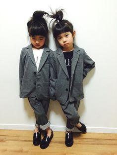 "Hiyoshi.  This is.  'S ""Jacquard Jacket (BRANSHES)"" coordinated using"