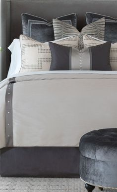 Luxury Bedding by Eastern Accents - Hendrix Collection