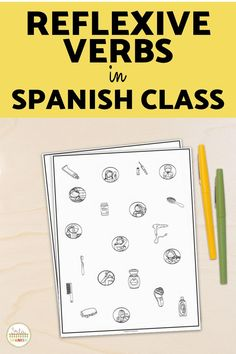 Are you practicing daily routine and reflexive verbs in your Spanish class? Check out this puzzles, printables, worksheets, speaking activities, and games to use with your middle school and high school students! Digital and printable options are included so you can use these simple lesson plans for your Spanish classroom! Master los verbos reflexivos with these easy to use station activities and review games that are no or low prep and so fun! Spanish Classroom, Teaching Spanish, Middle School Spanish, Spanish Lesson Plans, Spanish 1, Review Games, High School Students, Blog, Puzzles