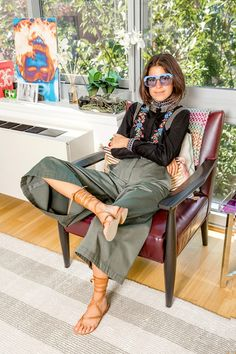 "MAN REPELLER blogger Leandra Medine is known for her take-no-prisoners style - so curated pre-loved shopping site Vestiaire Collective has stepped inside her wardrobe in order to find out exactly what it takes for your style to qualify as ""man repelling""."