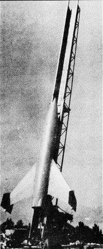 Rheinmetall-Borsig F55 Feuerlilie anti-aircraft missile, 1943