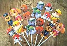 Hey I Found This Really Awesome Listing At Https Www Paw Patrol Cupcake Topperspaw Cupcakescake Popsparty