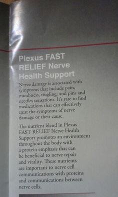 Plexus fast relief nerve support