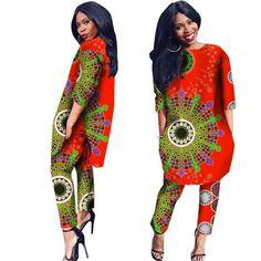 Item Type: Africa ClothingSpecial Use: Traditional ClothingGender: WomenMaterial: CottonType: african women pant setGender: WomenItem: Dashiki African CType: Traditional Africa ClothingMaterial: CottonDesign: shirt and pantSpecial: Traditional clothi African Attire, African Wear, African Fashion Dresses, African Women, African Dress, Fashion Outfits, African Clothes, Fashion Ideas, African Outfits