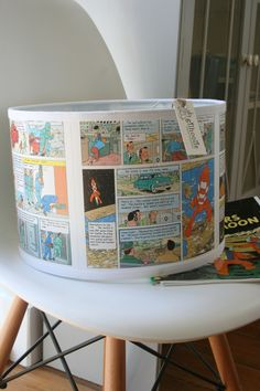 Tintin lampshade