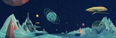Spacescape | Illustrator: Danny Jones