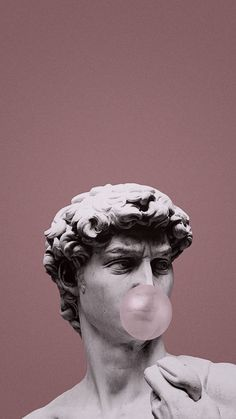 iPhone wallpaper David statue and balloon chewing gum free high quality iPhone wallpape . - iPhone wallpaper David statue and balloon chewing gum free high quality iPhone wallpaper unlimited - Wallpaper Pastel, Phone Wallpaper Images, Mood Wallpaper, Aesthetic Pastel Wallpaper, Iphone Background Wallpaper, Retro Wallpaper, Aesthetic Backgrounds, Tumblr Wallpaper, Cartoon Wallpaper