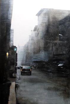 Obra de Lolo Serantes, paisaje urbano @c6espacioarte hasta el 26 de marzo