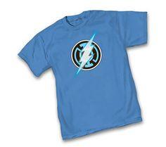 Green Lantern t-shirt  Blue Lantern Flash Logo
