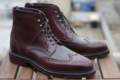 But for now, let me say  Without hope or agenda  Just because it's Christmas  And at Christmas you tell the truth  To me, you are perfect    Carmina for Epaulet burgundy shell shortwing boots