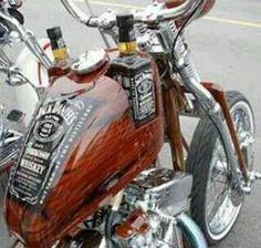 Jack Daniels Custom Gas Tank