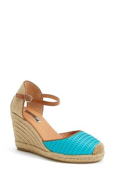 Halogen® 'Sandra' Wedge Espadrille (Women) available at #Nordstrom
