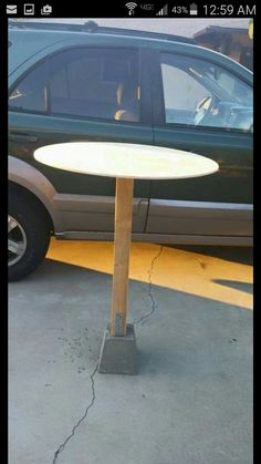 DIY cocktail table