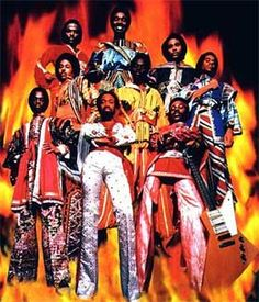 Earth, Wind and Fire--a major production!