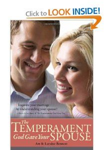 The temperament book for your spouse!