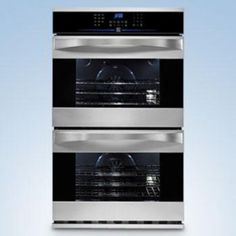 Kenmore Elite S/C Convection Double Wall Oven - Stainless Steel; saves space in the kitchen Kitchen Oven, Kitchen Redo, Kitchen Remodel, Kitchen Appliances, Kitchens, Kitchen Ideas, Electric Wall Oven, New Oven, Kenmore Elite
