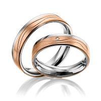 Trauringe Edelstahl | Ringe aus Edelstahl individuell konfigurieren | Trauringe 123gold