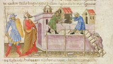 Illustration to e Livre du Trésor  Yates Thompson 28 [ex Add. MS 39844] folio 51  British Library, London, England  Italy (Florence), 1425
