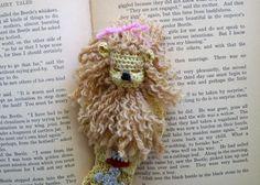 Cowardly Lion Bookmark by LoisLeigh - Craftsy