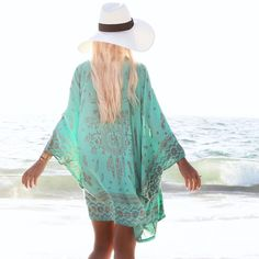 Great color and pretty cover-up!