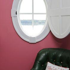 Porthole Window Ideas On Pinterest Window Coverings