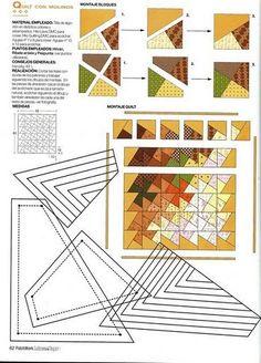 a twist epp quilt 1