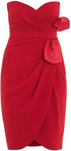MAXMARA PIANOFORTE Nerine Strapless Dress