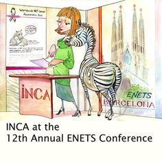 INCA at the 12th Annual ENETS Conference. The International NET Cancer Alliance (INCA) will be at the ENETS Conference in Barcelona. The conference for Diagnosis and Treatment of Neuroendocrine Tumor Disease is taking place from March 11-13, 2015. Please join us at our booth at ENETS. http://netcancerday.org/about