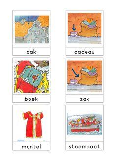 Woordkaarten 'Sint' 3
