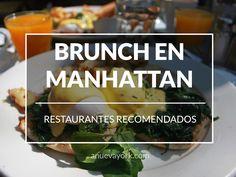 Restaurantes donde comer un buen brunch en Nueva York (edición Manhattan)