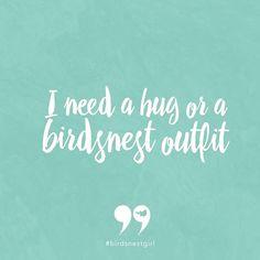 #birdsnestgirl