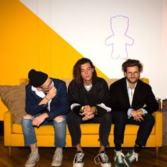 LANY – same couch, same house. Music Like, My Music, Lany Band Wallpaper, Paul Jason Klein, Indie Pop Bands, Steve Lacy, Band Wallpapers, Sing To Me, Fine Men